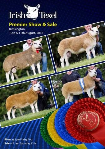 Irish Texel Premier Show & Sale 2018 by Irish Texel Sheep