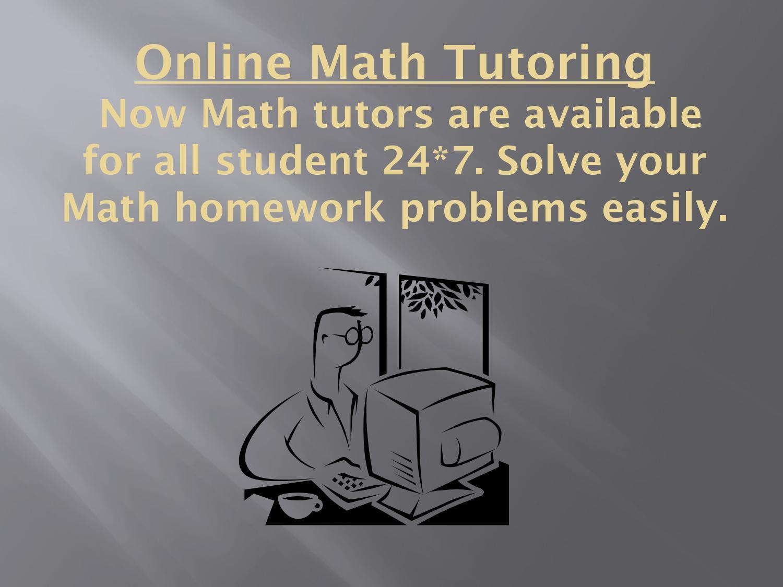 Online Math Tutoring Free Math Help Forum by Concept math - issuu