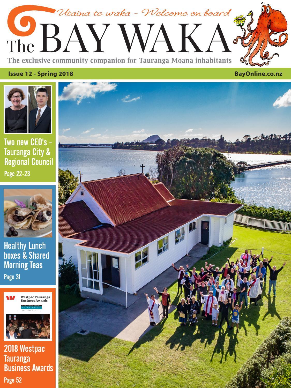 Bay Waka Spring Issue 12 Aug Oct 2018 By Community Arlo Coffee Men Cokelat Tua 42 Magazine Issuu