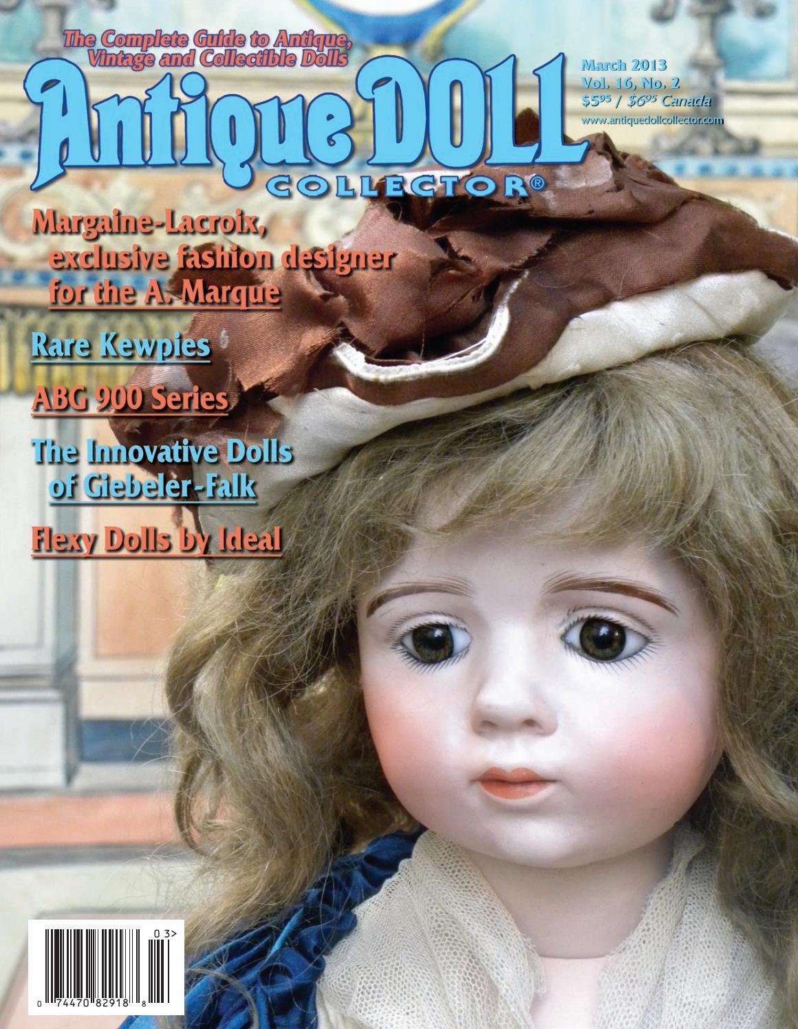 "Fits Daisy Dolls antique Doll Dress Pattern  14/""  Vintage # 1401"