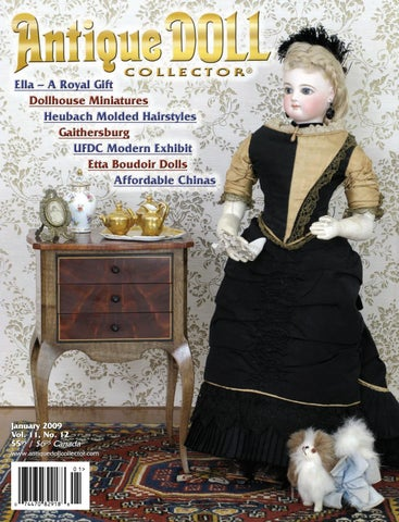 ea92f8cc7 2009 ANNUAL by Antique Doll Collector Magazine - issuu
