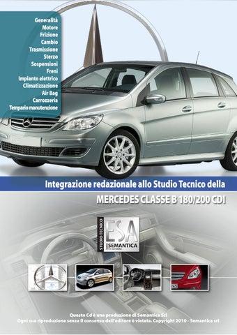 CINGHIA SERVIZI Mercedes Classe A B 180 200 CDI Dal 04