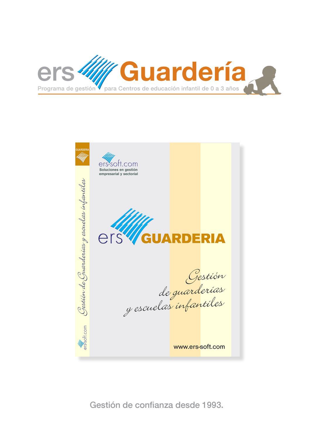 Presentación Ers Guardería 2018 by ersguarderia - issuu