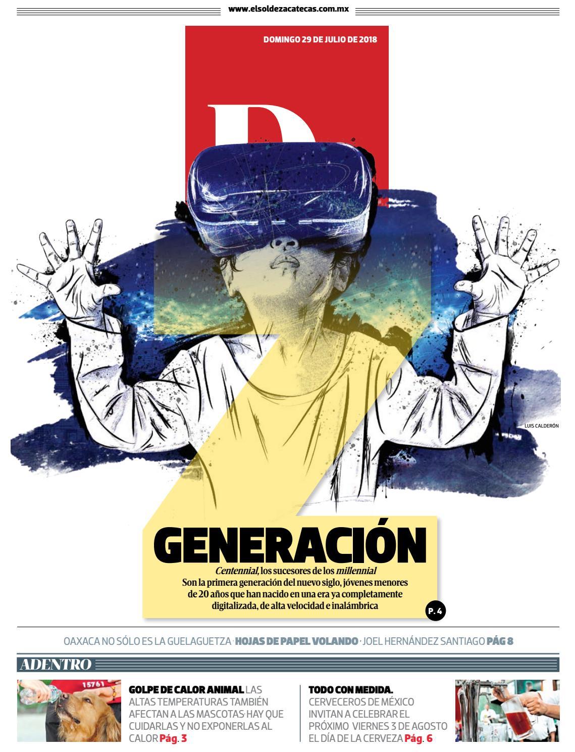 Dominical 20180729 by El Sol de Zacatecas - issuu