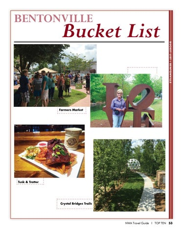 Page 55 of Things To Do in Bentonville Ar - Bucket List