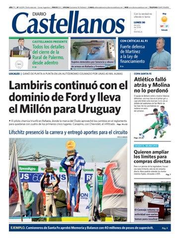 Diario Castellanos 30 07 by Diario Castellanos - issuu 725bba27d8686