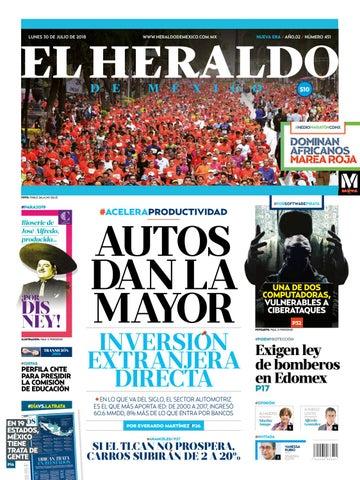 bb231a72dfbf3 30 de julio de 2018 by El Heraldo de México - issuu