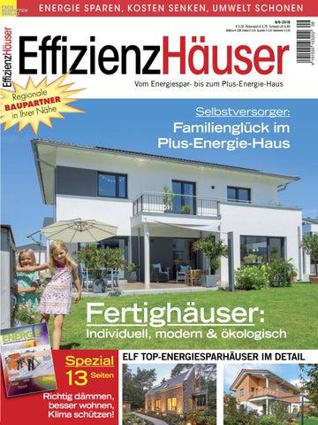 Fantastisch Effizienzhäuser 8/9 2018 By Fachschriften Verlag   Issuu