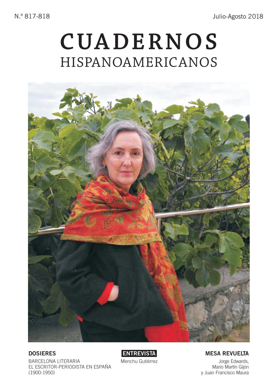 Cuadernos Hispanoameicanos (Número 817-818, julio-agosto 2018) by ...