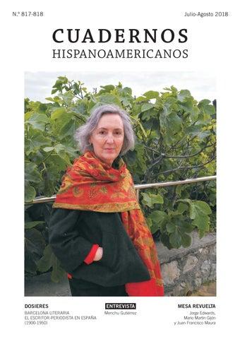 Cuadernos Hispanoameicanos Nmero 817 818 Julio Agosto 2018 By
