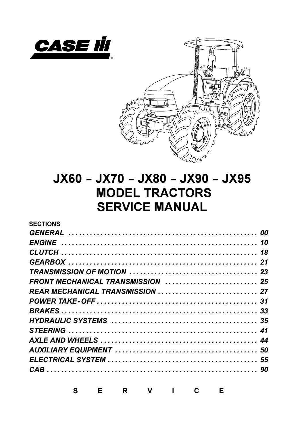 Pump Farmall MD Tractor Diesel Pump Service Manual Agricultural ...