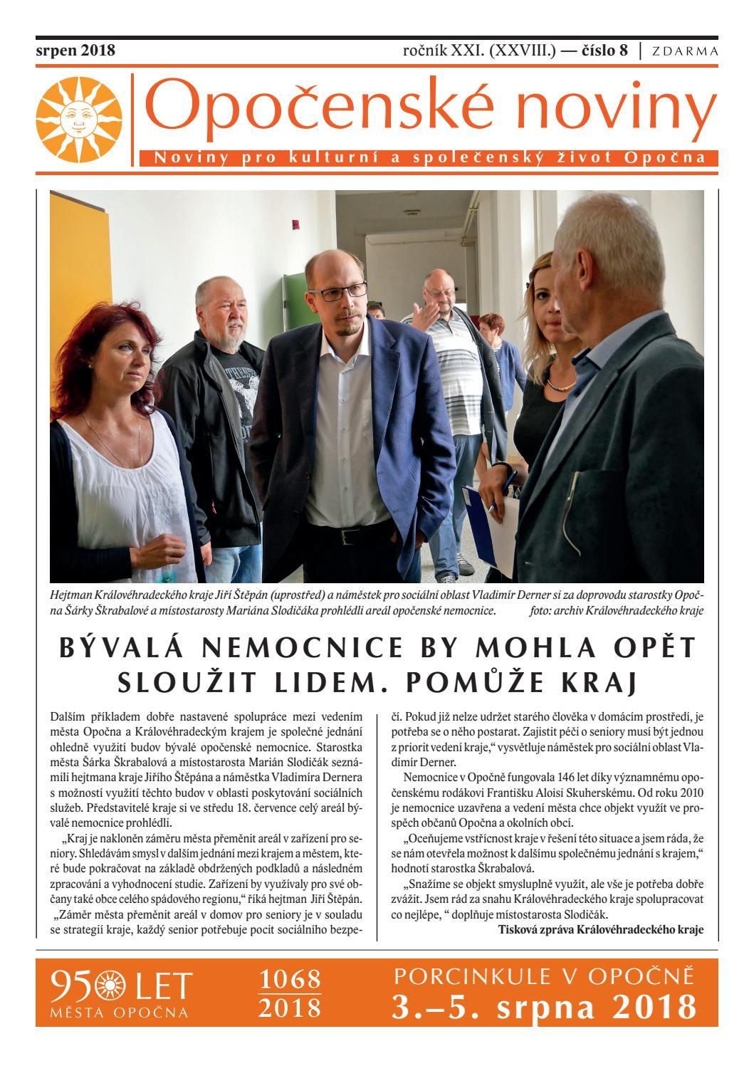 Opočenské noviny 8 2018 (26. 7. 2018) by Informační centrum Opočno - issuu f540e3e5929