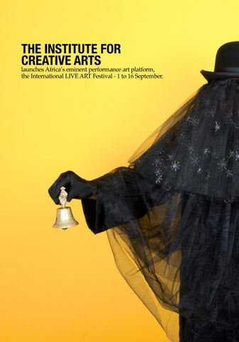 Page 18 of The Institute for  Creative Arts