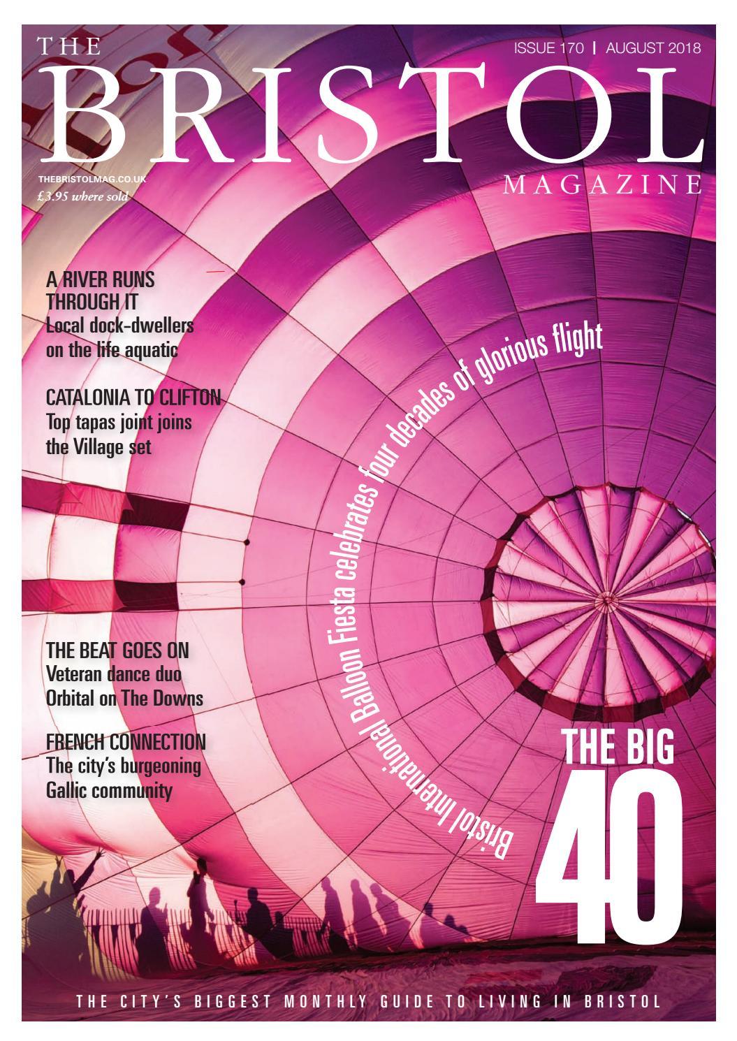 The Bristol Magazine August 2018 by MC Publishing - issuu
