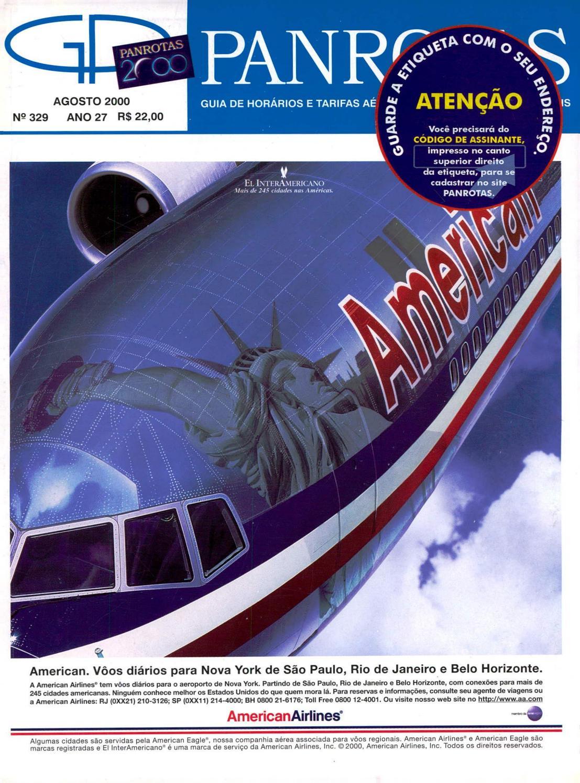 96226d0f8c2af Guia PANROTAS - Edição 329 - Agosto 2000 by PANROTAS Editora - issuu