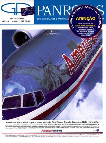 5258b429e79ca Guia PANROTAS - Edição 329 - Agosto 2000 by PANROTAS Editora - issuu