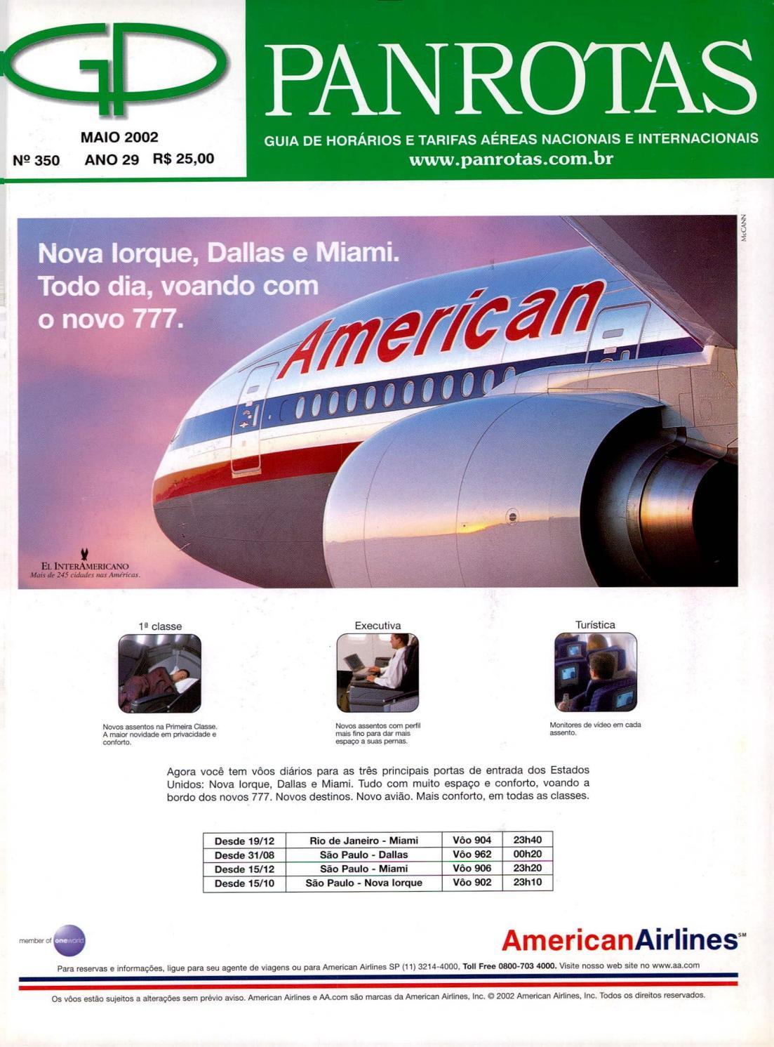 9dd618106c Guia PANROTAS - Edição 350 - Maio 2002 by PANROTAS Editora - issuu