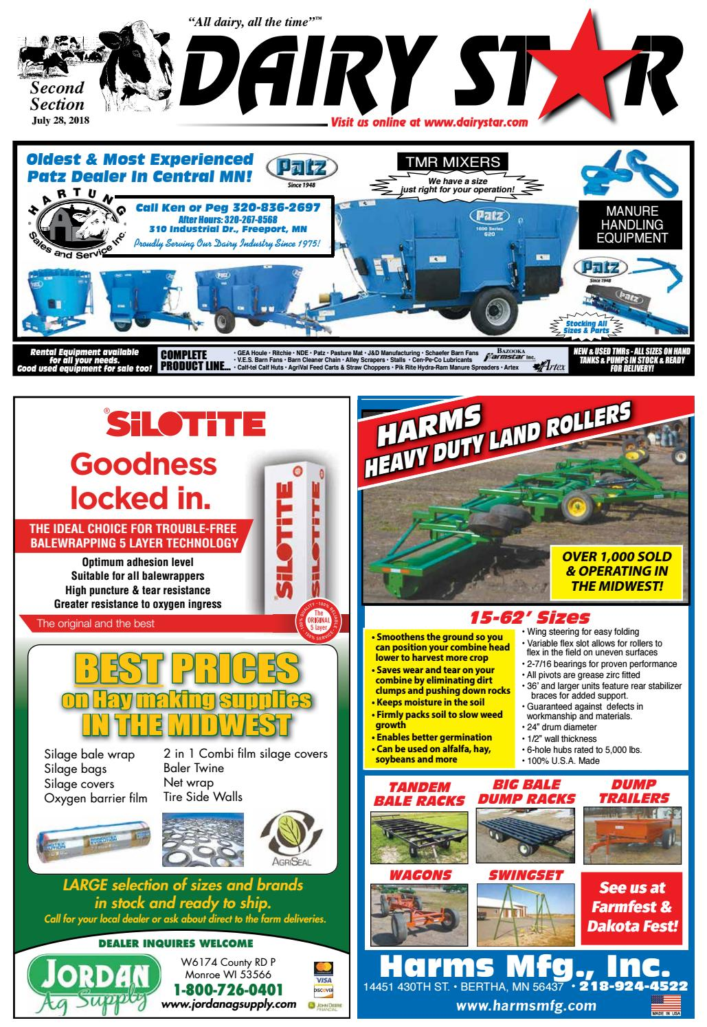 Dairy Star 7-18-18 2nd section by Dairy Star - issuu on