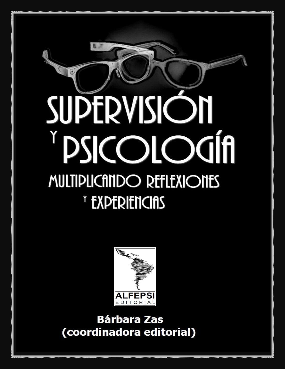 Supervisión Y Psicología Multiplicando Reflexiones Y