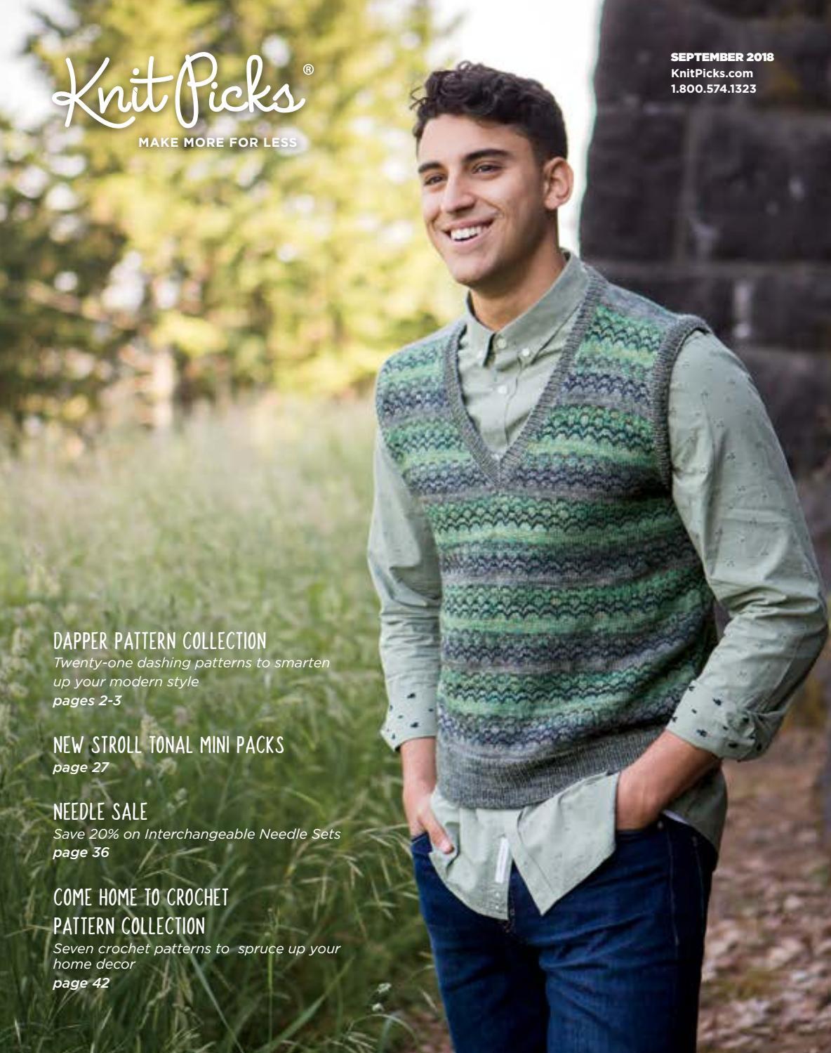 Knit Picks Options 2-3//4 Inch Short Tip Interchangeable Wood Knitting Needle Set Caspian