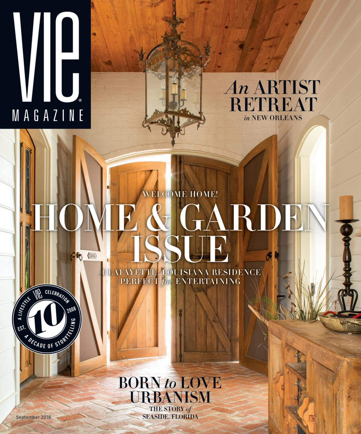 VIE Magazine September 2018 by The Idea Boutique - issuu
