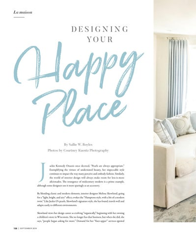 Page 108 of Designing Your Happy Place