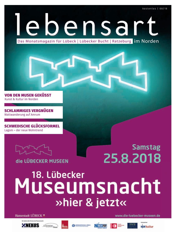 Lebensart im Norden Lübeck August 2018 by Verlagskontor Schleswig ...
