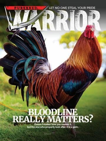 Purebred Warrior Digital Magazine — Dummy by Mhar Delaben