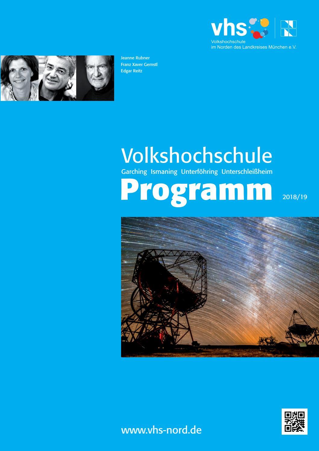 f70e14f3a8aa6e Vhs Nord, Programmheft Herbst/Winter 2018/19 by vhs im Norden des  Landkreises München e.V. - issuu
