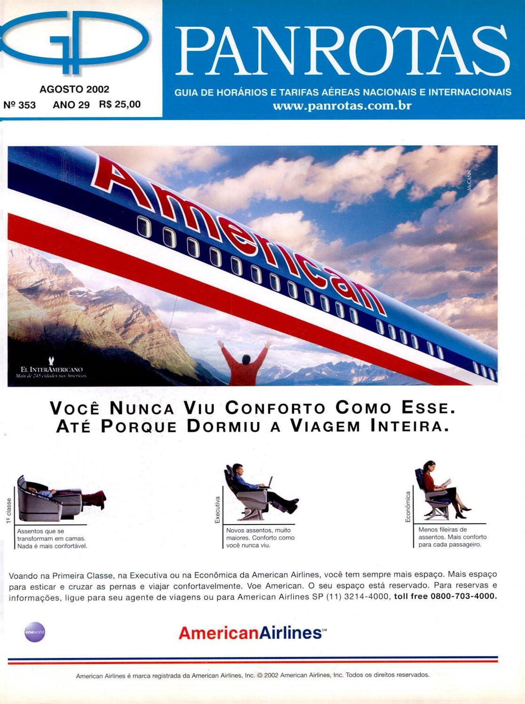Guia PANROTAS - Edição 353 - Agosto/2002 by PANROTAS Editora