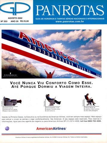 bad291e37e594 Guia PANROTAS - Edição 353 - Agosto 2002 by PANROTAS Editora - issuu