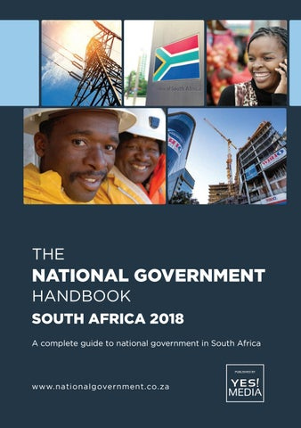 National Government Handbook - South Africa 2018 by Yes