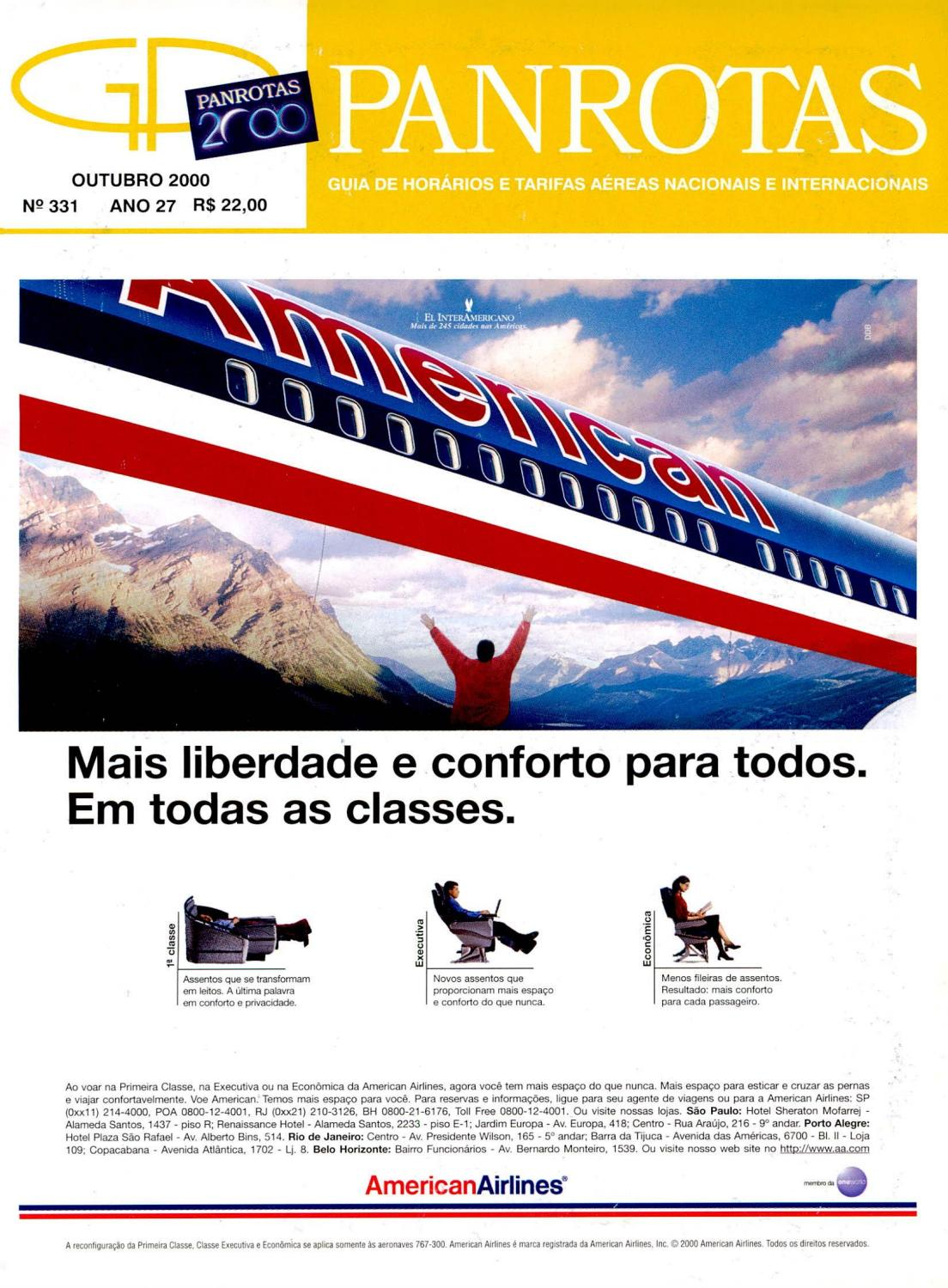 4d63aac7bf7 Guia PANROTAS - Edição 331 - Outubro 2000 by PANROTAS Editora - issuu