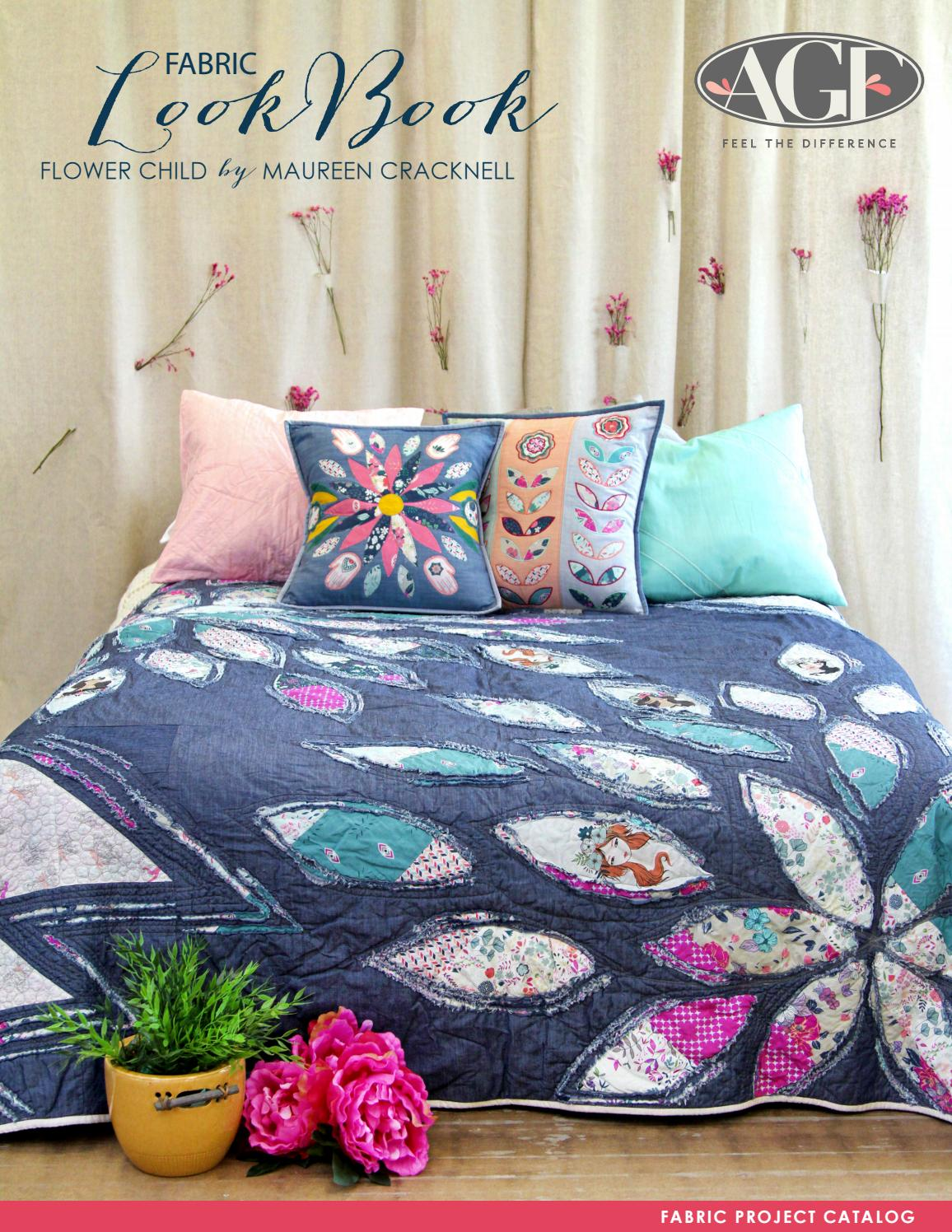 Art Gallery Fabrics Flower Child