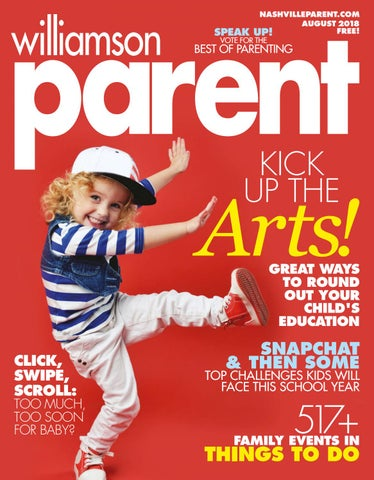 700e4629240dc Williamson Parent magazine August 2018 by Day Communications DayCom ...