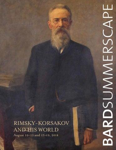 2018 Bard Music Festival: Rimsky-Korsakov and His World by Fisher