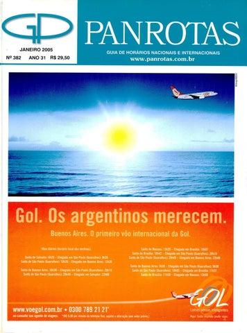 24b0583981988 Guia PANROTAS - Edição 382 - Janeiro 2005 by PANROTAS Editora - issuu