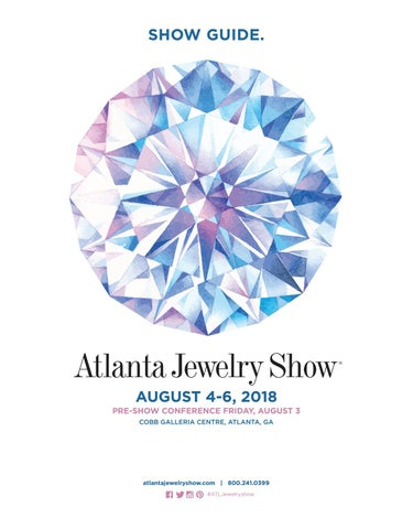 be4407ee5e1922 Atlanta Jewelry Show, August 2018 by studio mousetrap - issuu