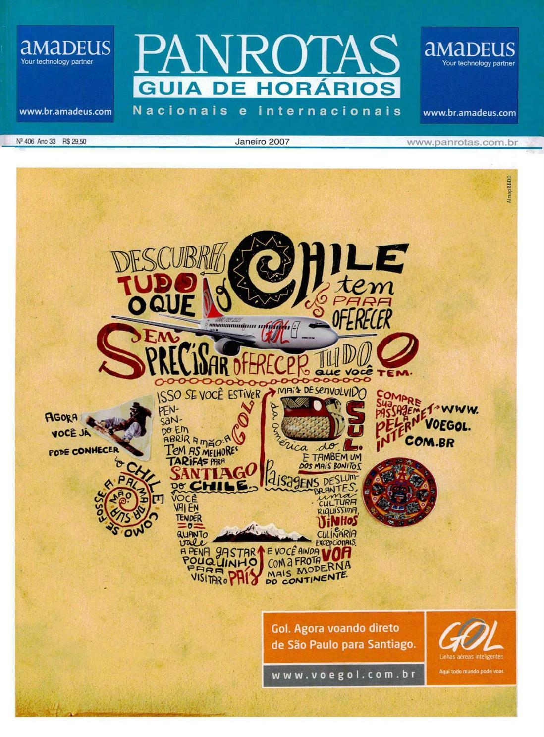 b50b45c3084 Guia PANROTAS - Edição 406 - Janeiro 2007 by PANROTAS Editora - issuu