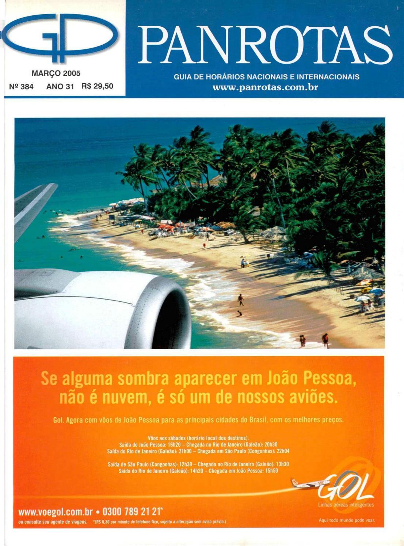 Guia PANROTAS - Edição 384 - Março 2005 by PANROTAS Editora - issuu 6b286dcb75