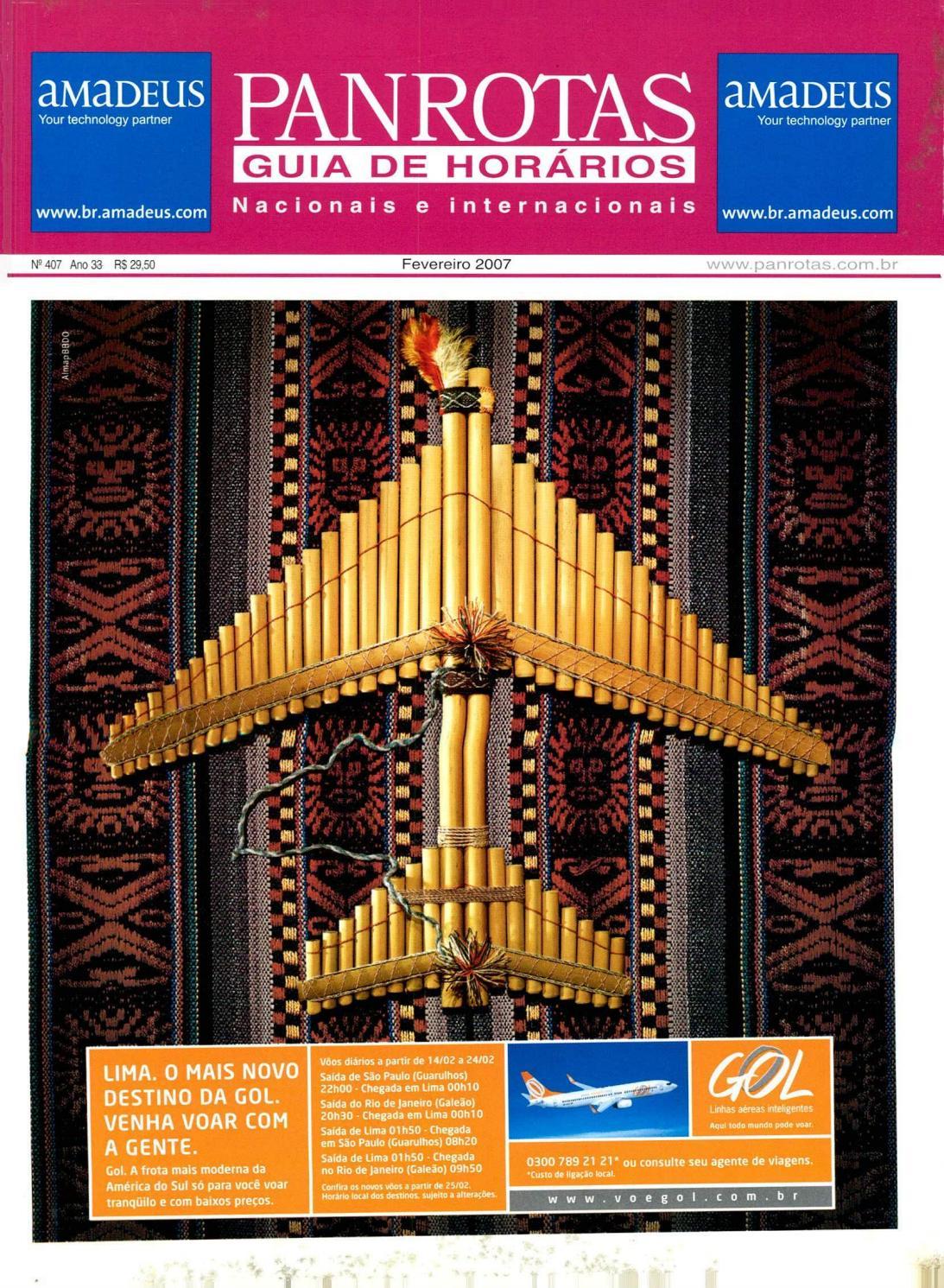 Guia Panrotas Edição 407 Fevereiro2007 By Panrotas