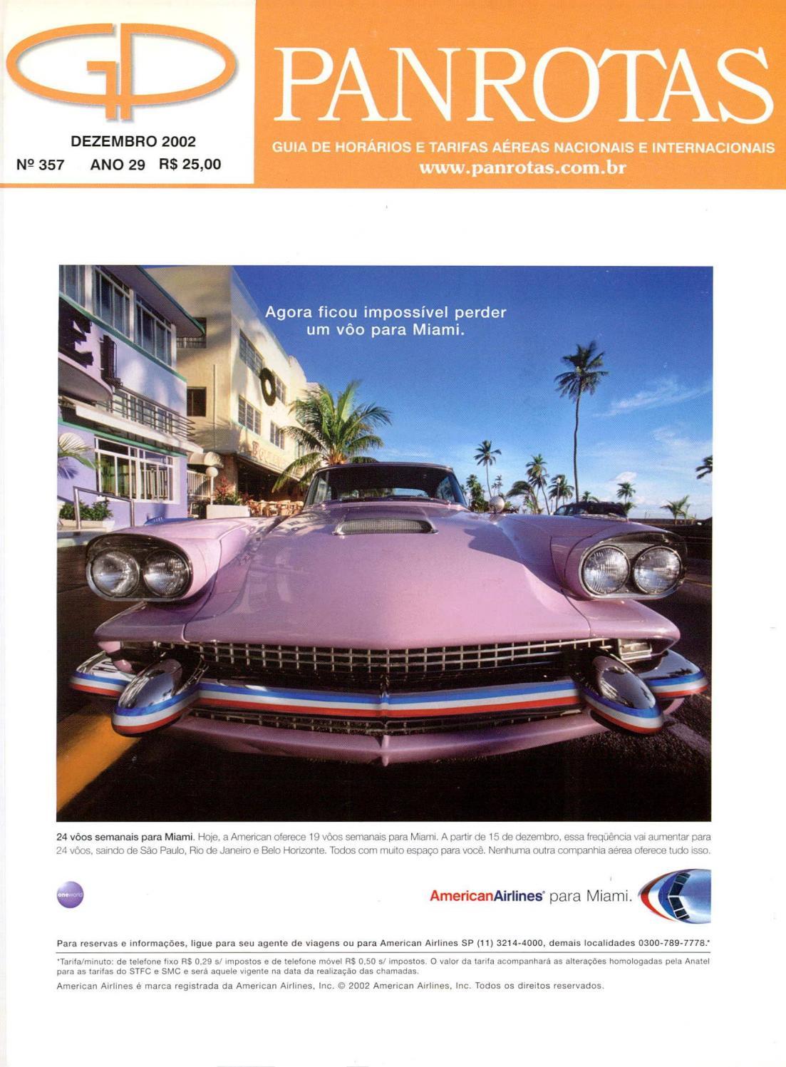 4d3b8c826258a Guia PANROTAS - Edição 357 - Dezembro 2002 by PANROTAS Editora - issuu