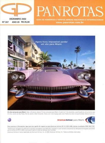 432e11c6e Guia PANROTAS - Edição 357 - Dezembro/2002 by PANROTAS Editora - issuu
