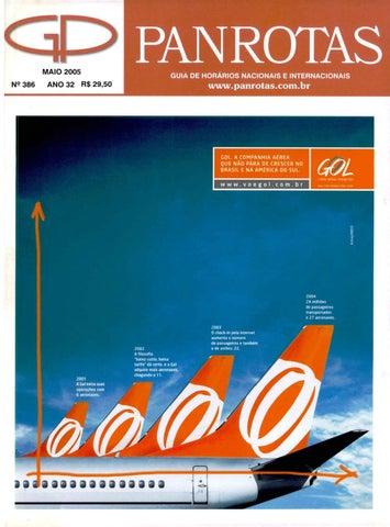 3b0bd2ef47a02 Guia PANROTAS - Edição 386 - Maio 2005 by PANROTAS Editora - issuu