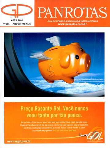 98fcdb3aad5 Guia PANROTAS - Edição 385 - Abril 2005 by PANROTAS Editora - issuu