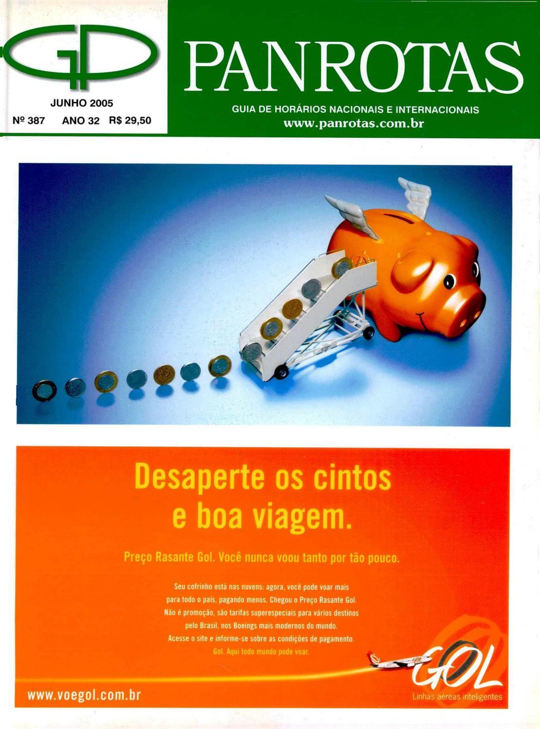 61b36571ba4 Guia PANROTAS - Edição 387 - Junho 2005 by PANROTAS Editora - issuu