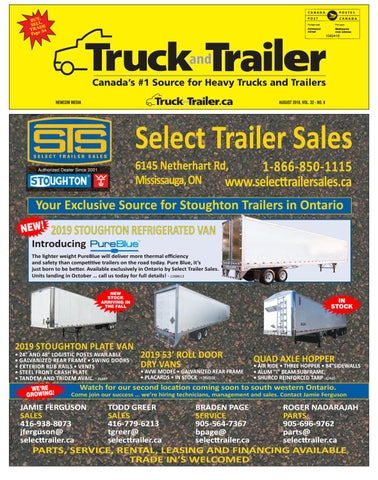 Truck and Trailer August 2018 by Annex Business Media - issuu