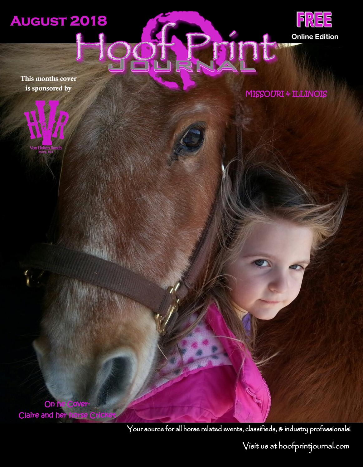 August 2018- Hoof Print Journal by The Hoof Print Journal