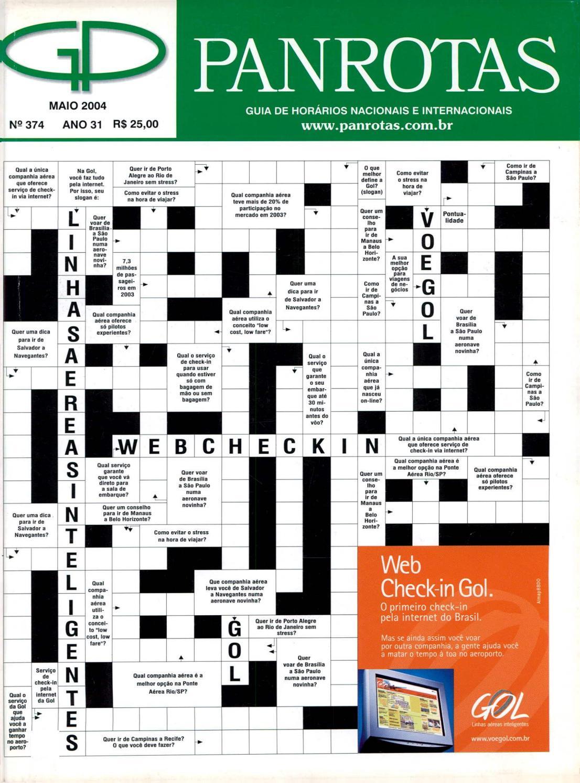a8842a26c4f73 Guia PANROTAS - Edição 374 - Maio 2004 by PANROTAS Editora - issuu