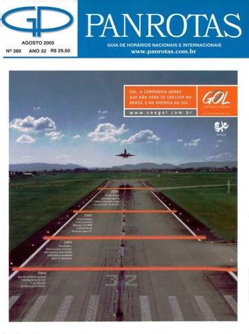 Guia PANROTAS - Edição 389 - Agosto 2005 by PANROTAS Editora - issuu e397099340
